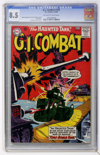 G.I. Combat #105 (DC, 1964) CGC VF+ 8.5 Off-white to white pages