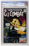 Silver Age (1956-1969):War, G.I. Combat #104 (DC, 1964) CGC VF/NM 9.0 Off-white pages....