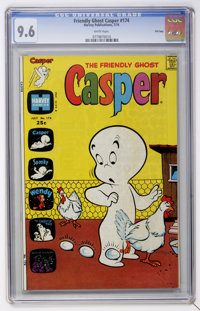 Friendly Ghost Casper #174 File Copy (Harvey, 1974) CGC NM+ 9.6 White pages