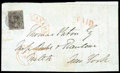 Stamps, (3) Canada 1851, 12d black, laid paper...