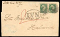 Stamps, (36) Canada 1872, 2¢ green...