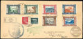 Stamps, Italy 1933 Italy Flight, May 29-30, and 2nd S. America Flight, June 3-13...