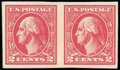 Stamps, (534B) 1918, 2¢ carmine, Offset imperf, type VII...
