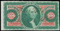 Stamps, (R102a) Revenue, 1862-71 First Issue, $200 U.S. Internal Revenue, imperf...