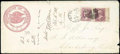 Stamps, (O31, O28) Justice Dept., 1873, 15¢ and 6¢ values...