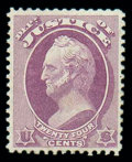 Stamps, (O32) Justice 1873, 24¢ purple...