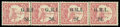 Stamps, New Britain, 1914, 2d on 10pf carmine, variety surcharge sideways, reading upwards...