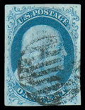 Stamps, (5A) 1851, 1¢ blue, type Ib...