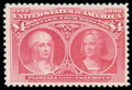 Stamps, (244) 1893, $4 Columbian...