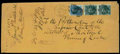 Stamps, 1867 (Sep. 21) Boston, Mass. to Montreal, Canada...