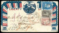 Stamps, Arch of State Names, Pennsylvania Seal at Top...