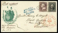 Stamps, Lady Liberty with Eagle & Shield, Wreathed...