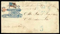 Stamps, Canon Firing Left, C.S.A. Waving Flag...