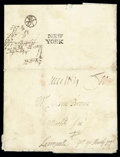 Stamps, 1712 (Jun. 10) Philadelphia Pa. to Liverpool, England via Bristol Packet...