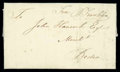 Stamps, 1765 (Apr. 13) London, England to Boston Mass....