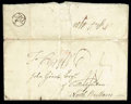 Stamps, 1777 (Oct. 15) Germantown Pa. to North Britain...