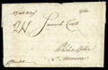 Stamps, 1783 (May 17) Dungannon Ireland to Philadelphia Pa....