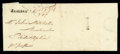 Stamps, 1775 (Mar. 7) Pigg Point Md. to Philadelphia Pa....