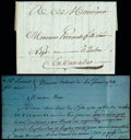 Stamps, 1784 (Feb. 20) New Orleans, Spanish Louisiana to Quebec, Canada...
