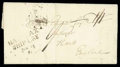 Stamps, 1795 (Mar. 18) Detroit, B.N.A. to Hants, England...