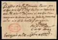 Stamps, 1799 (Sep. 9) New Orleans, Spanish Louisiana to St. Croix...