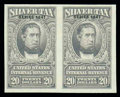 Stamps, (RG58-76 var.) 1941, 1¢-$20 Silver Tax imperforate...