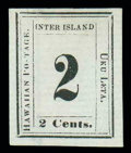 "Stamps, (24b) 1864, 2¢ black, ""S"" of ""POSTAGE"" omitted..."