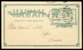 Stamps, (UX9) Postal Card, 1894, 2¢ green...