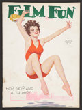 """Movie Posters:Miscellaneous, Film Fun (Dell, 1932). Magazine (8.5"""" X 11.5"""", Multiple Pages). Miscellaneous.. ..."""