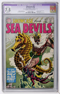 Silver Age (1956-1969):Adventure, Showcase #29 Sea Devils (DC, 1960) CGC Apparent VF- 7.5 Slight (A) Cream to off-white pages....