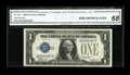Small Size:Silver Certificates, Fr. 1604 $1 1928D Silver Certificate. CGA Gem Uncirculated 68.. ...