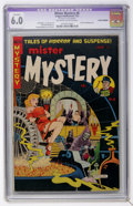 Golden Age (1938-1955):Horror, Mister Mystery #6 (Aragon Magazines, Inc., 1952) CGC Apparent FN6.0 Off-white to white pages....