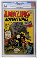 Silver Age (1956-1969):Horror, Amazing Adventures #1 (Marvel, 1961) CGC FN 6.0 Cream to off-whitepages....