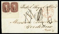 1856 (Dec. 5) New Orleans La. to Bordeaux France