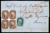 1856 (Sep. 8) Donaldsonville La. to Nantes, France