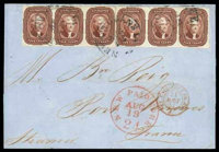 1857 (Aug. 12) New Orleans, La. to Port Vendres France