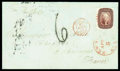 Stamps, 1856 (Apr. 5) New York N.Y. to Limoges France...