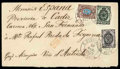 Stamps, (10/22 Feb.) 1873 (10/22 Feb.) envelope from St. Petersburg to San Fernando (1.3)...