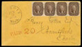 Stamps, (30A) 1860, 5¢ brown, type II...