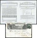 Stamps, (93) 1867, 2¢ black, F. grill...