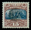 Stamps, (119) 1869, 15¢ brown & blue, type II...