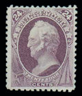 Stamps, (175) 1875 Special Printing, 24¢ dull purple...