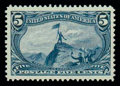 Stamps, (288) 1898, 5¢ Trans-Miss....