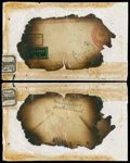 Stamps, Germany 1937 (May 6) Hindenburg disaster cover...