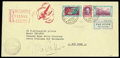 Stamps, (CO1) Italy 1933 Balbo triptych...