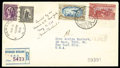 Stamps, Mexico 1935 Amelia Earhart Goodwill Flight cover...