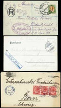 Stamps, The magnificent balance of the specialized collection of the Herero Rebellion 1904-07...