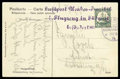 Stamps, 1914 (19 May) 5 pf stationery card addressed to Erfurt...
