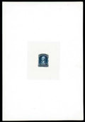 Stamps, (40P1-47P1) 1857-60 (1875 Reprints), 1¢-90¢ complete, large die proofs on India...