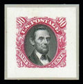 Stamps, (112P2-119P2, 129P2, 120P2-122P2) 1869, 1¢-90¢ Pictorial issue, small die proofs...